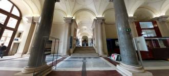 University of Vienna entrance.